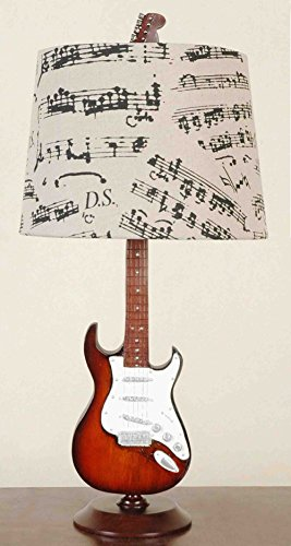 Creative Motion Guitar Desk Lamp, 24.5-Inch