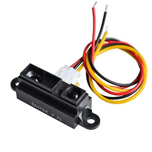 Sharp Ir Sensor - Bestol GP2Y0A41SK0F 100% NEW 4-30cm Infrared distance sensor 0A41SK INCLUDING WIRE