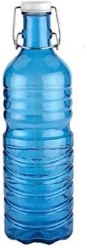 Botella Agua Azul