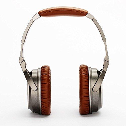 XHKCYOEJ Headset Stereo Headset/Headphones/Headphones/Wired/Heavy Bass/Music/Games,Brown: Amazon.co.uk: Electronics