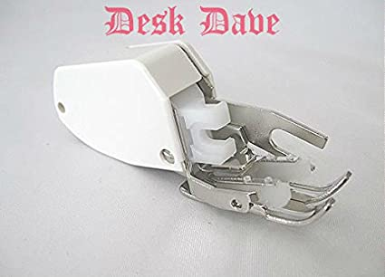 Amazon Desk Dave's Walking Foot Low Shank For Brother Elna Magnificent White Sewing Machine 1632