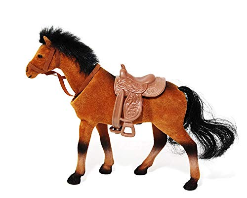 Batty Bargains Majestic Bobblehead Horse with Dashboard Adhesive (Brown)