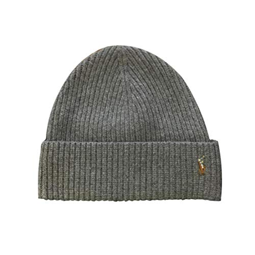 ns Pony Logo Skull Cap Beanie Hat (One Size, Fawn Grey) ()