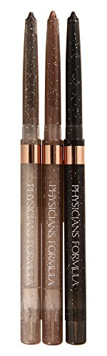 Physicians Formula Shimmer Strips Extreme Shimmer Eyeliner Trio, Nude Eyes, 0.03 Ounce