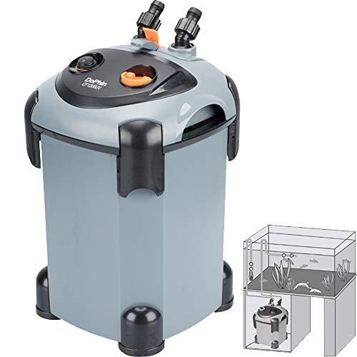 Cherish XT Canister Filter Fish Tank External Filtration System for Aquariums, Fast Maintenance (SF1400) ()