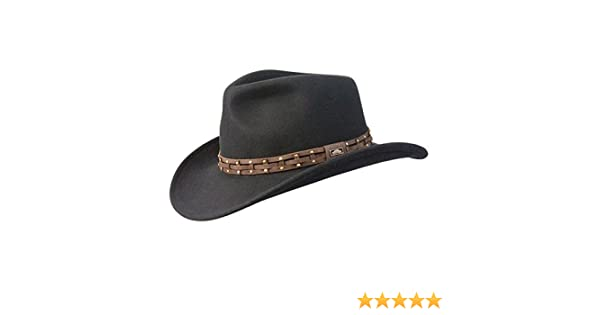 173c83c60aa Conner Hats Men s Wyoming Outback Wool Hat at Amazon Men s Clothing store