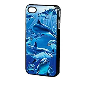 MOFY-Patr—n 3D Dolphin protector Caja iPhone 4/4S I00002
