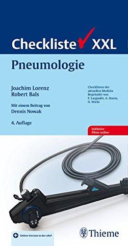 Checkliste Pneumologie (Checklisten XXL)
