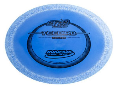 Innova Disc Golf Star Line Lite TeeBird Golf Disc, 130-139gm (Colors may vary)