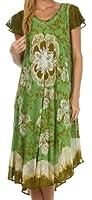 Sakkas Aloha Floral Caftan Dress