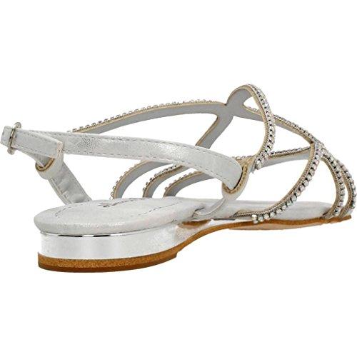 Sandalias y chanclas para mujer, color Plateado , marca ALMA EN PENA, modelo Sandalias Y Chanclas Para Mujer ALMA EN PENA V17396 Plateado Plata