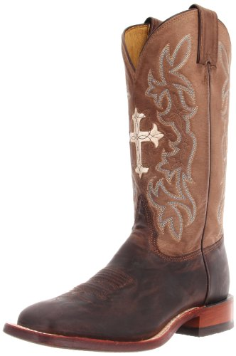 Tony Lama Women's Tan Goat Cross TC1002L Boot,Tan Saigets Wo