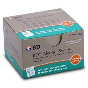 BD Medical Systems 326895 Alcohol Swab (12 Boxes of 100)