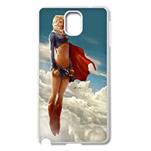 Samsung Galaxy Note 3 Cases Supergirl, GG [White]