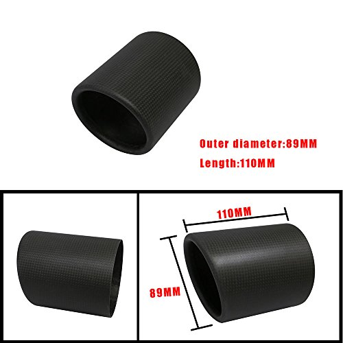 (Jzz Cozma Carbon Fiber Exhaust Tip Cover 3.5 inch Outlet)