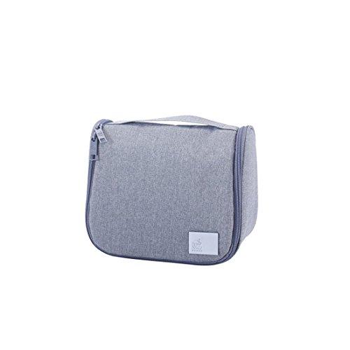 Versace Handles Double Bag - Toiletry bag Cosmetic with Hanging Hook Carry Handle Multifunction Waterproof for Travel and Bathroom Storage Men Women girls