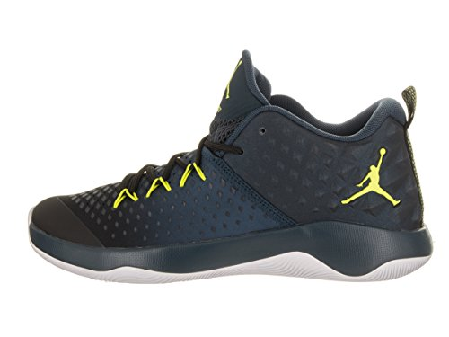 Zapato Adicional Mosca De Baloncesto Jordan Nike Hombres Negro / Electrolime-arsenal Marino Blanco Guay Grandes ofertas para la venta m1ctZGOaM