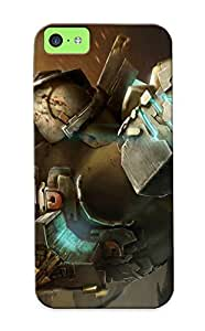 Iphone 5c Case, Premium Protective Case With Awesome Look - Dead Space 3(gift For Christmas)