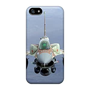 Defender Case With Nice Appearance (planes F16 Fighting Falcon) For Iphone 5/5s