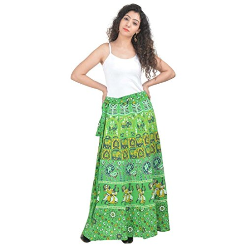 Skirt Cotton Indian Export Wraparound Women's Handicrfats xqAPAzX
