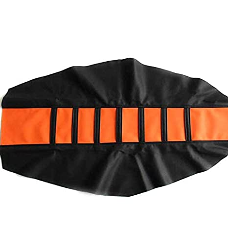 Gripper Soft Seat Cover For Honda RC85 CR125//250//500R CRF50//150R//250R//450R Orange