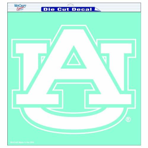 NCAA Auburn Tigers 18-by-18 inch Diecut Decal