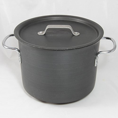 Calphalon Commercial Hard Anodized 6-1/2-Quart Stock Pot with Lid