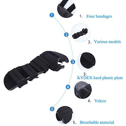 Soft Functional Resting Hand Splint for Stroke, Fracture, Tendinitis, Dislocation (Medium, Left) by Furlove (Image #1)