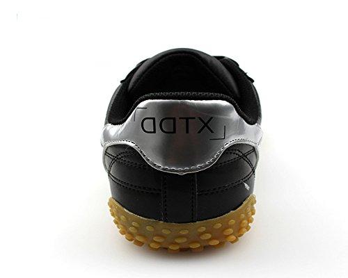 Ddtx Mens Scarpe Da Lavoro Puntale In Acciaio Anti Puntura Scarpe Di Sicurezza Da Ginnastica Nere