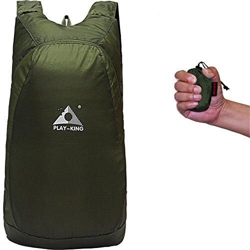 Outdoor Travelling Camping Handy Women Army Ultralight Rucksack Green Waterproof Backpack for Hiking 20L Daypack Foldable Men xwwqYHPO