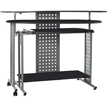"""OneSpace 50-100705 Regallo Expandable """"L"""" Computer Desk"""