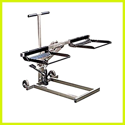 Floor Jack ATV Heavy Duty Lifter Stand Car High Lift Riding Lawn Mower Hydraulic Pump - House Deals