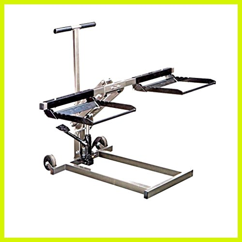Floor Jack ATV Heavy Duty Lifter Stand Car High Lift Riding Lawn Mower Hydraulic Pump - House Deals