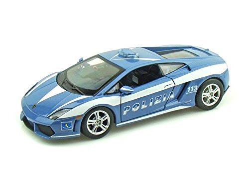 2009 Lamborghini Gallardo LP560-4 Polizia 1/24 Blau