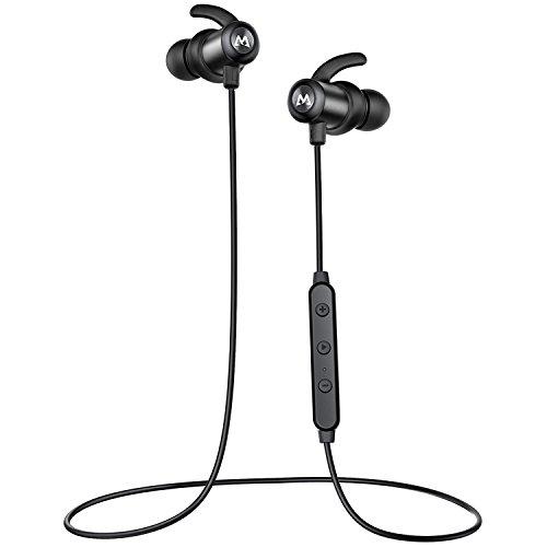 Mpow S6 Bluetooth Headphones Magnetic, aptX Hi-Fidelity Wire