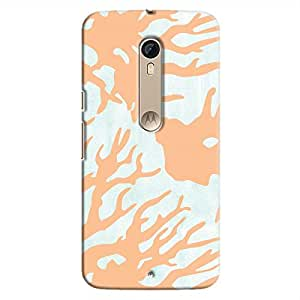 Cover It Up - Pale blue Nature Print Moto X Style Hard case