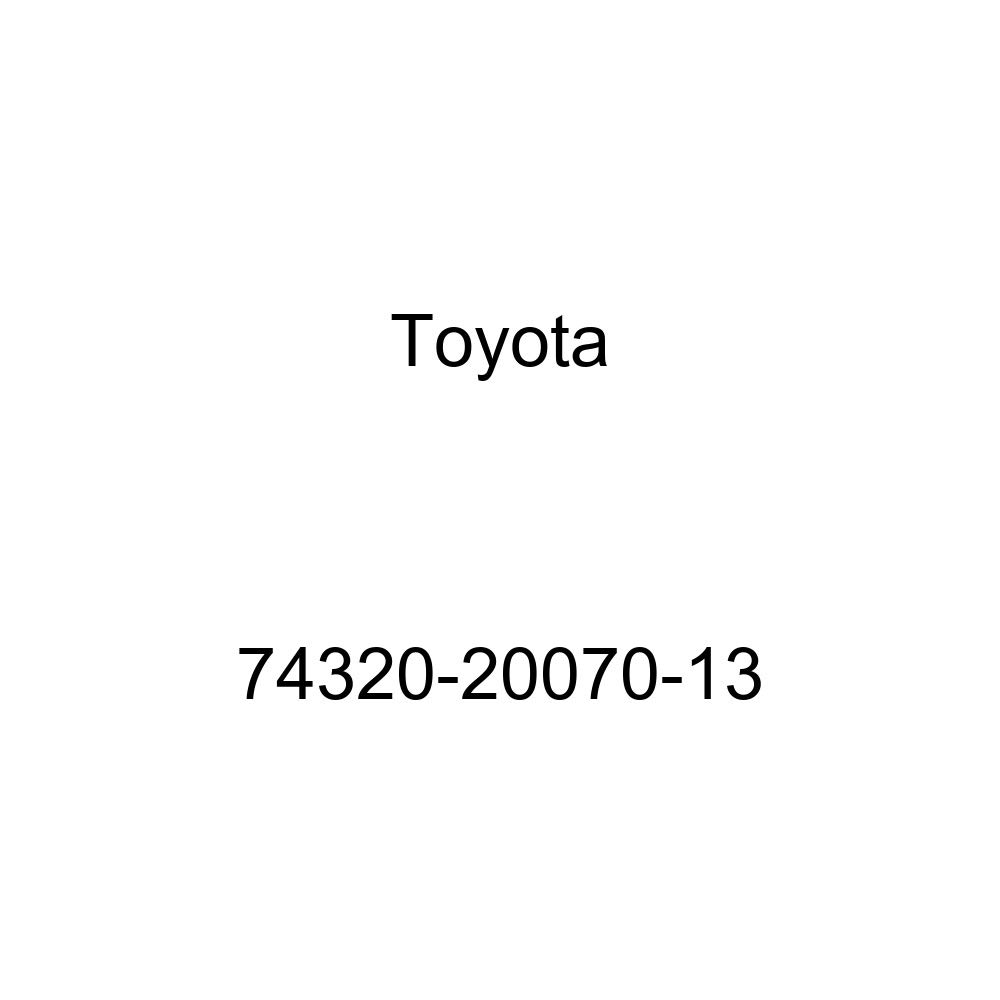 Toyota Genuine 74320-20070-13 Visor Assembly