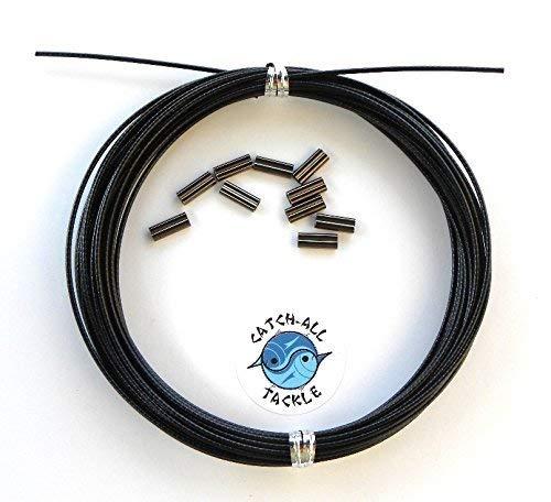 Amazon.com: 49 Strand Negro con revestimiento de vinilo kit ...
