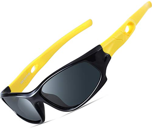 ATTCL Kids Hot TR90 Polarized Sunglasses For Boys Girls Child Age 3-10 ()