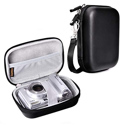 Waterproof Snug fit Camera Case Bag Compatible for Canon PowerShot SX720 SX730 ELPH190 SX620 G9X Mark II,Panasonic ZS50 TS30R,Sony DSCW830 W810 HX80/B WX220 HX90,HP Sprocket Portable Photo Printer Bag