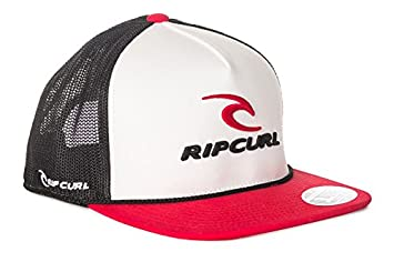 RIP CURL Men s Rippy Team Flat Trucker Baseball Cap 297a8b8c315d