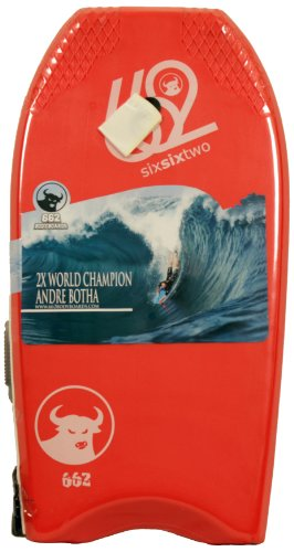 662 Rising Sun Bull Bodyboard, Red, 45-Inch ()