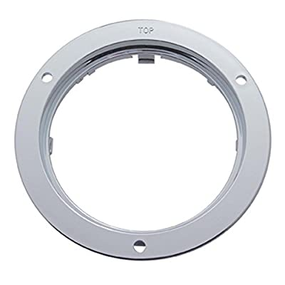 United Pacific 4 inch Mounting Bezel- Chrome Colored, Model 10500: Automotive [5Bkhe1008753]