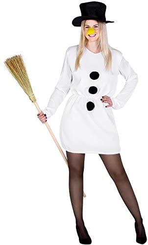 Femme de Noel Carotte Nez Bonhomme de neige de Noël Costume Manche Longue Femmes Tee T Shirt