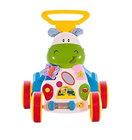 Chipolino - Andador Musical para bebés Hippo azul/amarillo ...
