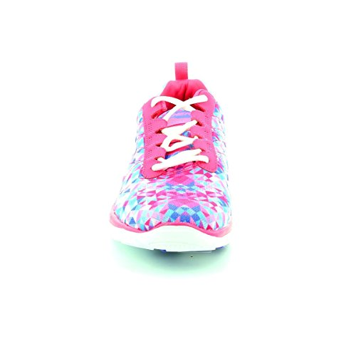 Skechers Flex Appell Atomaren Splash Damen Trainer Pink Multi