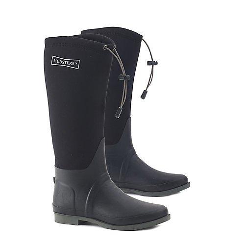 Ovation Women's Mudster Comfort Rider Boot Round Toe Black 7 B by Ovation