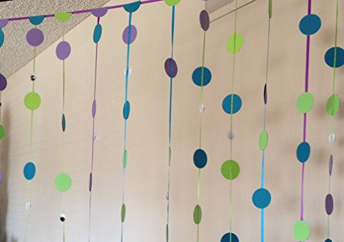 Garland Basket Blue - Garland - Monster's Inc. Garland - Purple Green and Blue Garland - Back Drop Garland - Monster's Inc. Party Decoration - Handmade Garland