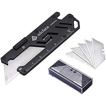 Amazon.com: edcfans - Cuchillo multiusos 5 en 1, cortador de ...