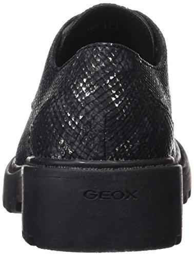 M Geox Fille Derby Noir Casey black J aOOqx6E